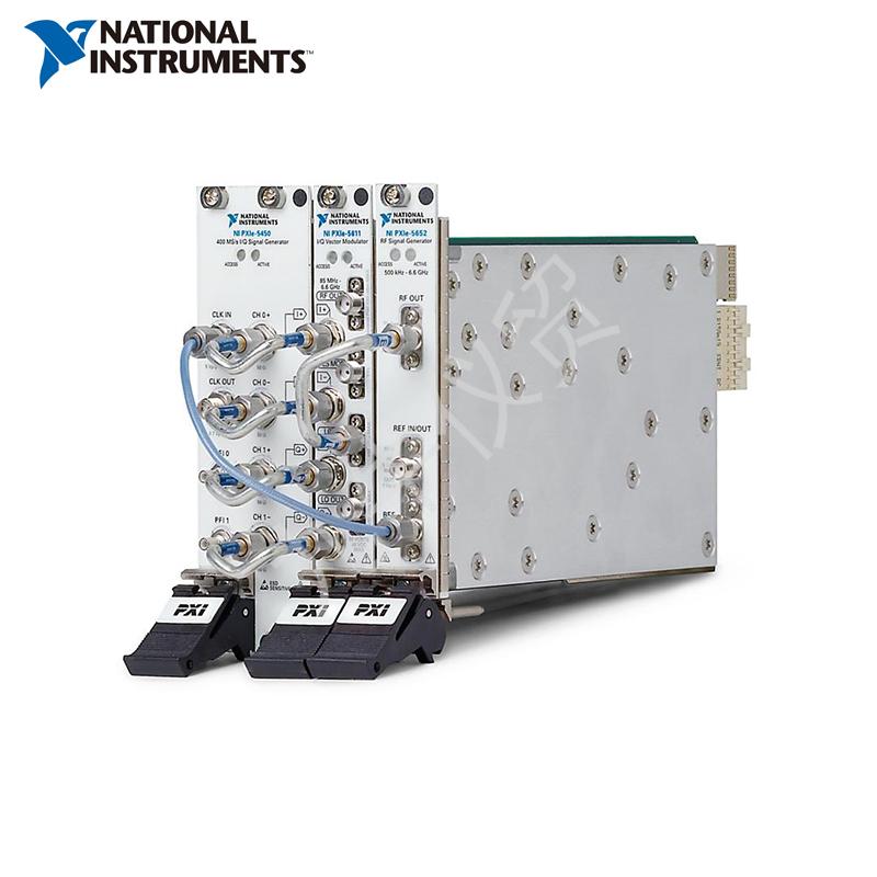 NI,PXIe-5673E 6.6 GHz 4通道相位相干MIMO信号发生器
